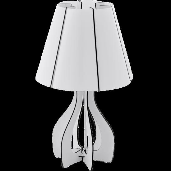 Picture of EGLO COSSANO TABLE LAMP Ø25,5CM WHITE