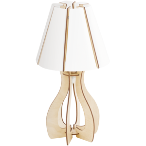 Picture of EGLO COSSANO TABLE LAMP Ø25,5CM MAPLE