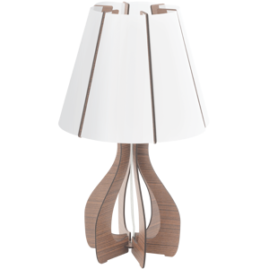 Picture of EGLO COSSANO TABLE LAMP Ø25,5CM DARK BROWN