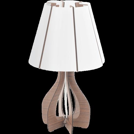 Picture of EGLO COSSANO TABLE LAMP Ø25,5CM DARK BROWN