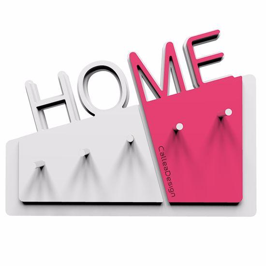 Picture of  CALLEA DESIGN HOME NEW WALL KEY HOLDER IN FUCHSIA COLOUR