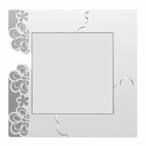 Picture of CALLEA DESIGN MERLETTO ORIGINAL WALL MIRROR IN WHITE COLOUR