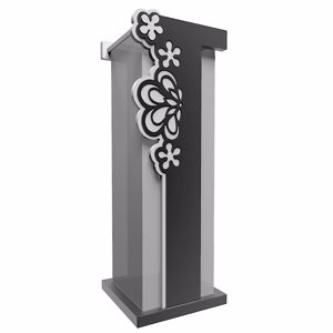 Picture of CALLEA DESIGN MERLETTO UMBRELLA RACK ORIGINAL DESIGN BLACK COLOUR