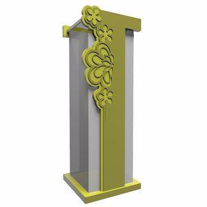 Picture of CALLEA DESIGN MERLETTO NEW UMBRELLA RACK MDOERN DESIGN OLIVE GREEN COLOUR