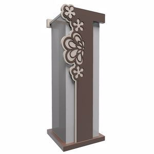 Picture of CALLEA DESIGN MERLETTO UMBRELLA RACK ORIGINAL DESIGN IN CHOCOLATE COLOUR