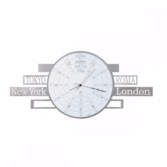 Picture of ARTI E MESTIERI JET LAG WALL CLOCK TIMEZONES ALUMINIUM CLOCK