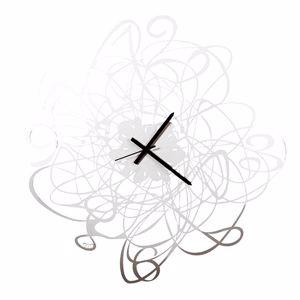 Picture of ARTI E MESTIERI BIG DOODLE WALL CLOCK Ø90 MODERN DESIGN WHITE COLOUR