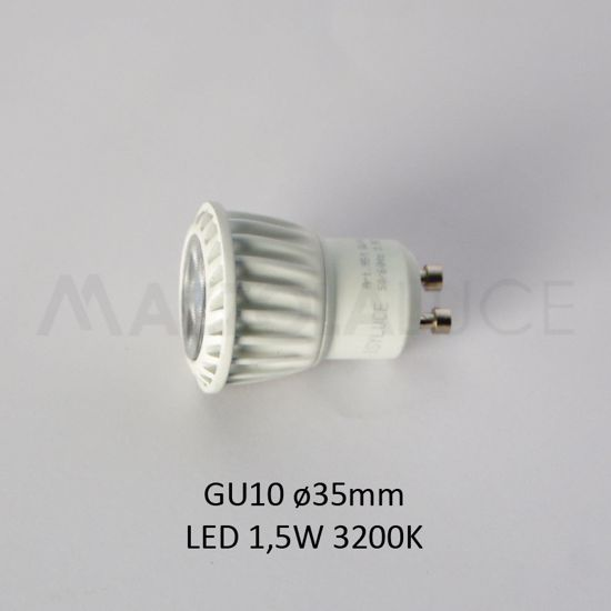 Picture of ISYLUCE BULB LED 1.5W GU10 35MM 3200K 120 LUMEN