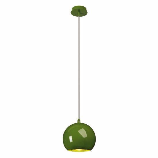 Picture of SLV LIGHT EYE BALL LITTLE SUSPENSION LIGHT IN GREEN METAL