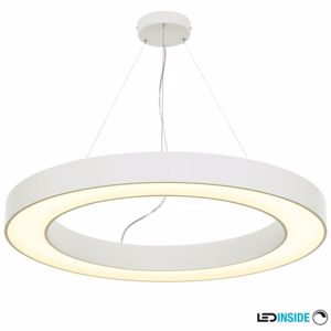 Picture of SLV MEDO 90 RING BIG SUSPENSION LIGHT Ø90CM  WHITE RING MODERN DESIGN