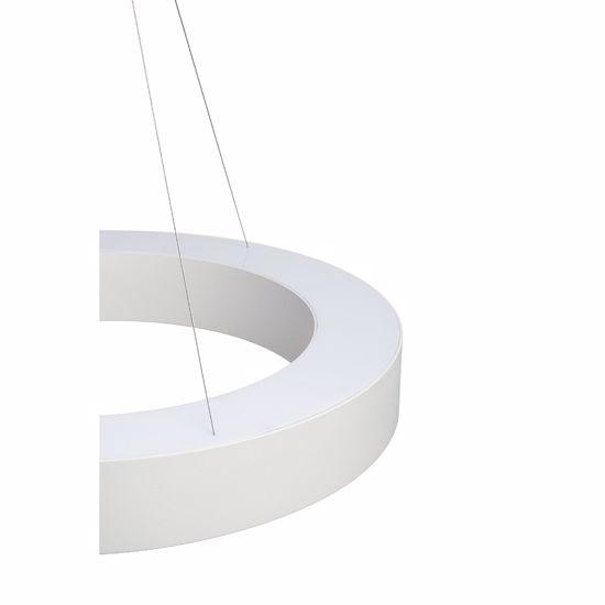 Picture of SLV MEDO 90 RING BIG SUSPENSION LIGHT Ø90CM  WHITE RING MODERN DESIGN