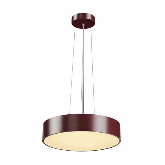 Picture of SLV MEDO 40 LED SLIM SUSPENSION LIGHT Ø38CM PURPLE CYLINDER