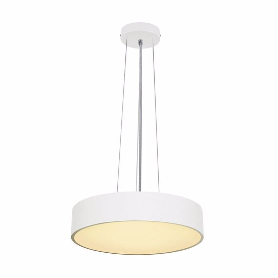 Picture of SLV MEDO 60 LED BIG SUSPENSION LIGHT Ø60CM WHITE CYLINDER