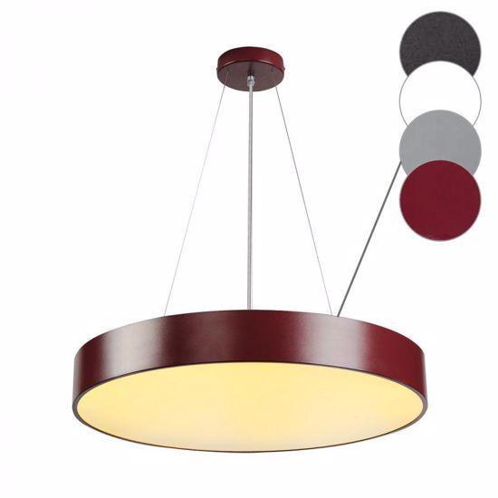 Picture of SLV MEDO 60 LED BIG SUSPENSION LIGHT Ø60CM PURPLE CYLINDER