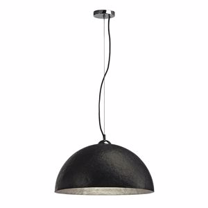 Picture of SLV FORCHINI PD1 DOME SUSPENSION BLACK & SILVER Ø50CM
