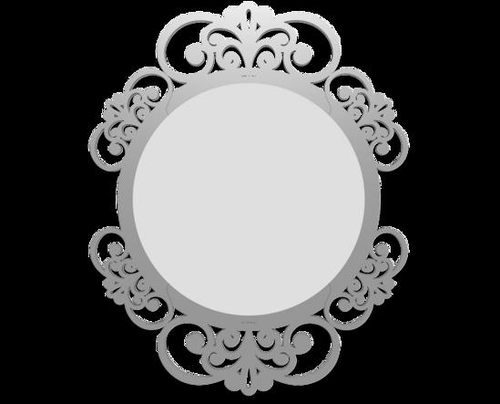 Picture of CALLEA DESIGN VIENNA WALL MIRROR  SHABBY CHIC DESIGN ALUMINIUM FINISHING