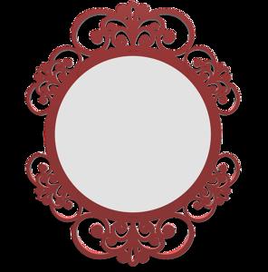 Picture of CALLEA DESIGN VIENNA WALL MIRROR ORIGINAL DESIGN RUBY FINISHING