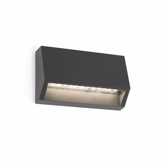 Picture of FARO MUST FOOTPATH LED LIGHT 1.5W FOR OUTDOOR STEPS AND STAIRS DARK GREY FINISHING