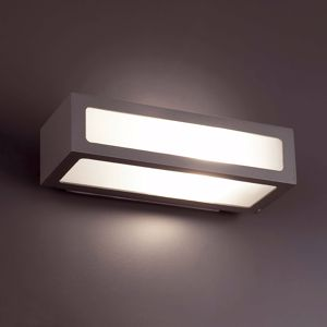 Picture of FARO NATRON WALL LAMP DARK GREY RECTANGULAR-SHAPED INDIRECT LIGHT