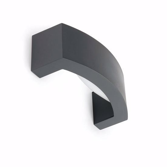 Picture of OUTDOOR WALL LIGHT IP54 DARK GREY FINISHING INDIRECT LIGHT