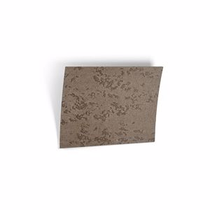 Picture of BELFIORE MODERN WALL LAMP LED LIGHT THIN CERAMIC DECORATED WITH BROWN STONE EFFECT