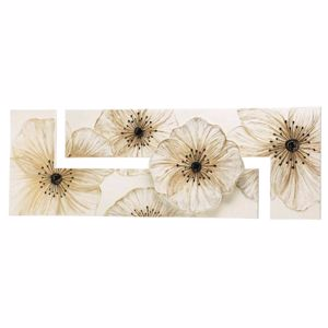 Picture of PINTDECOR PETUNIA WALL ART HAND-DECORATED  RESIN DETAILS