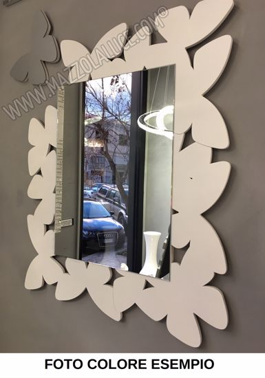 Picture of CALLEA DESIGN BUTTERFLY MIRROR WHITE