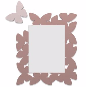 Picture of CALLEA DESIGN BUTTERFLY MIRROR CLOUD PINK