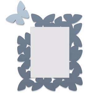 Picture of CALLEA DESIGN BUTTERFLY MIRROR MID BLUE