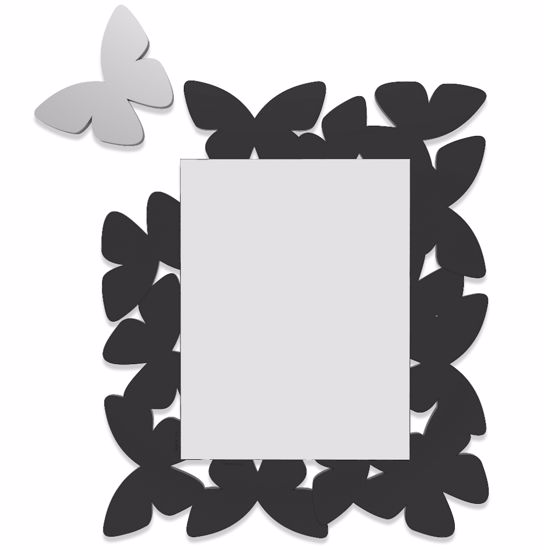 Picture of CALLEA DESIGN BUTTERFLY MIRROR BLACK