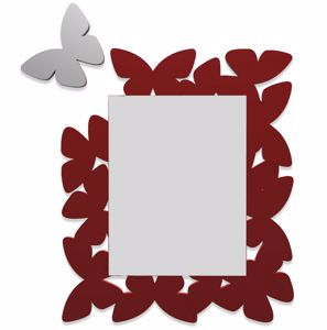 Picture of CALLEA DESIGN BUTTERFLY MIRROR RUBY