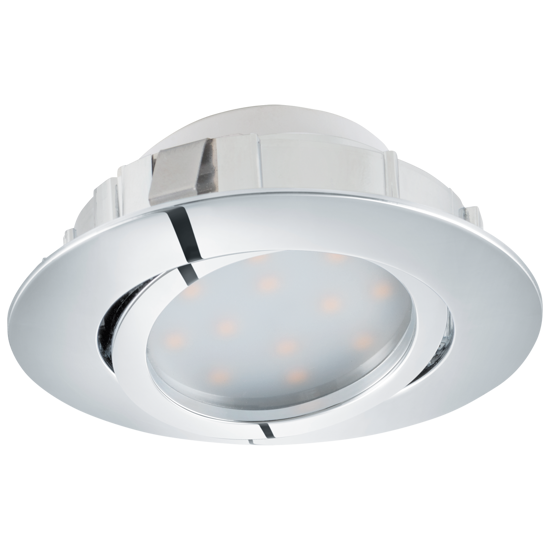 Picture of ADJUSTABLE RECESSED SPOTLIGHT FOR FALSE CEILING LED 6W 3000K CHROMED FINISH