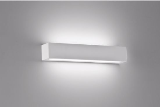 Picture of LED WALL LIGHTS RECTANGULAR PLASTER 40CM 30W PLASTER EFFECT