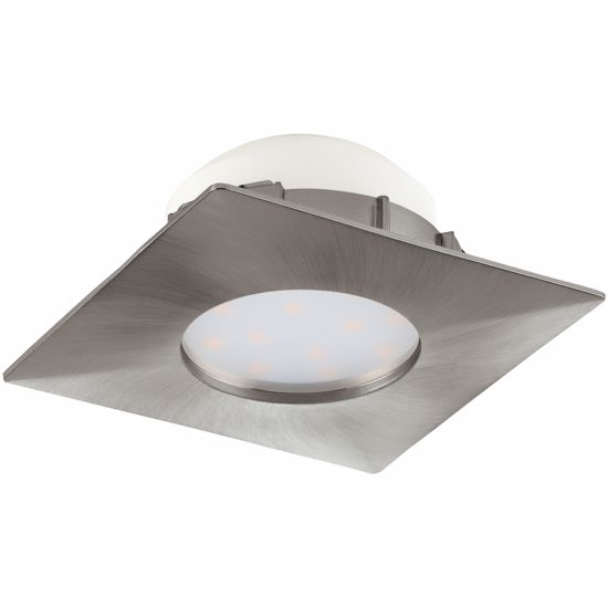Picture of RECESSED LED SPOTLIGHT FOR FALSE CEILING 6W 3000K NICKEL