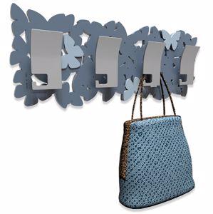 Picture of CALLEA DESIGN MODERN COAT RACK BUTTERFLIES MID BLUE