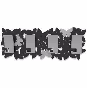 Picture of CALLEA DESIGN MODERN COAT RACK BUTTERFLIES ISLAND BLACK