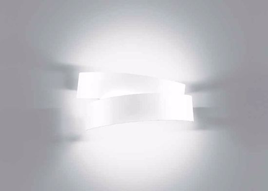 Picture of MARCHETTI WHITE WALL LIGHT PURA CONTEMPORARY DESIGN