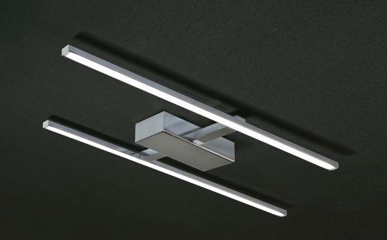 Picture of PROMOINGROSS LED CEILING LAMP MODERN DESIGN CHROME ELEGANCE 32W 3000K