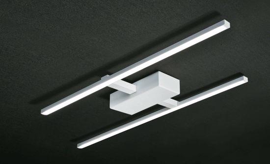 Picture of LED CEILING ELEGANCE WHITE LAMP 32W 3000K MODERN DESIGN BY PROMOINGROSS