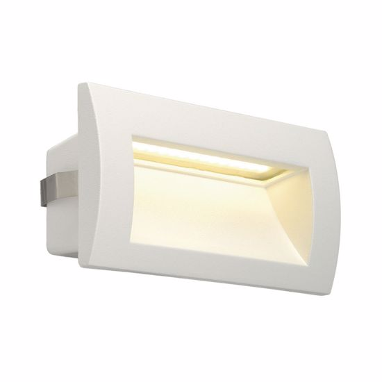 Picture of WHITE RECESSED PATHWAY LED LIGHT IP55 3000K