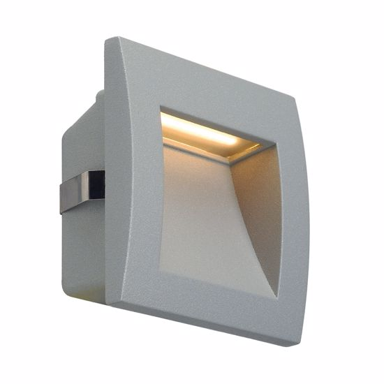 Picture of WALL RECESSED LED LIGHT FOR DRIVEWAY IP55 SILVER GREY