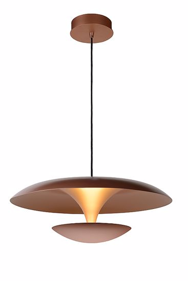 Picture of MODERN SUSPENSION DIMMABLE LED LAMP COPPER DESIGN
