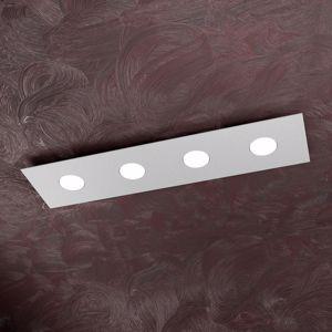 Picture of PLAFONIERA LED 4 LUCI RETTANGOLARE PER CUCINA GRIGIO MODERNA TOPLIGHT