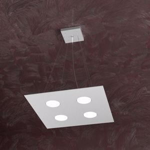 Picture of SQUARED PENDANT LIGHT MODERN GREY FINISHING PLATE COLLECTION TOPLIGHT
