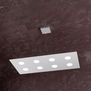 Picture of TOPLIGHT AREA BIG 8 LED PENDANT LIGHT GREY FINISHING SLIM METAL DESIGN