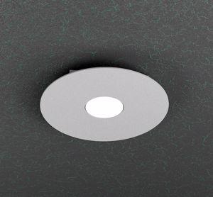 Picture of PICCOLA PLAFONIERA GX53 LED ROTONDA METALLO GRIGIO TOPLIGHT CLOUD