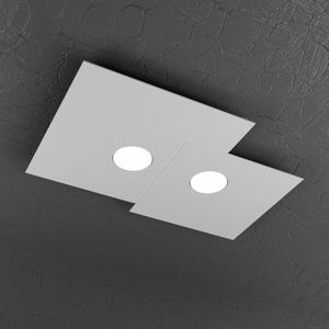Picture of PLAFONIERA LED DESIGN MODERNA GRIGIO TOP LIGHT PLATE