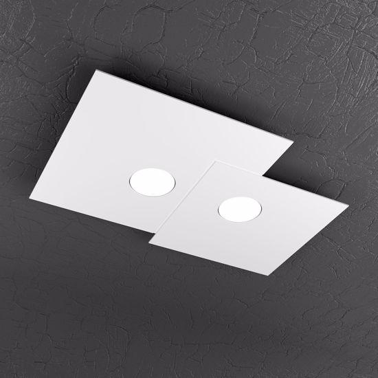 Picture of TOP LIGHT PLATE CEILING LAMP LED 2 LIGHTS