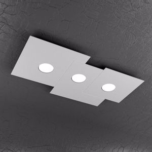 Picture of PLAFONIERA LED GRIGIO DESIGN MODERNA TOPLIGHT PLATE