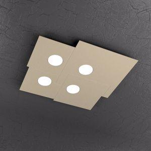 Picture of PLAFONIERA LED DESIGN PER CUCINA MODERNA COLORE SABBIA TORTORA TOP LIGHT PLATE